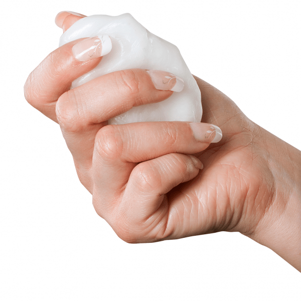 Therabath Paraffin Wax Ball in Hand