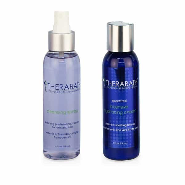 Therabath Pre-Treatment Cleansing Spray and Intensive Hydrating Cream