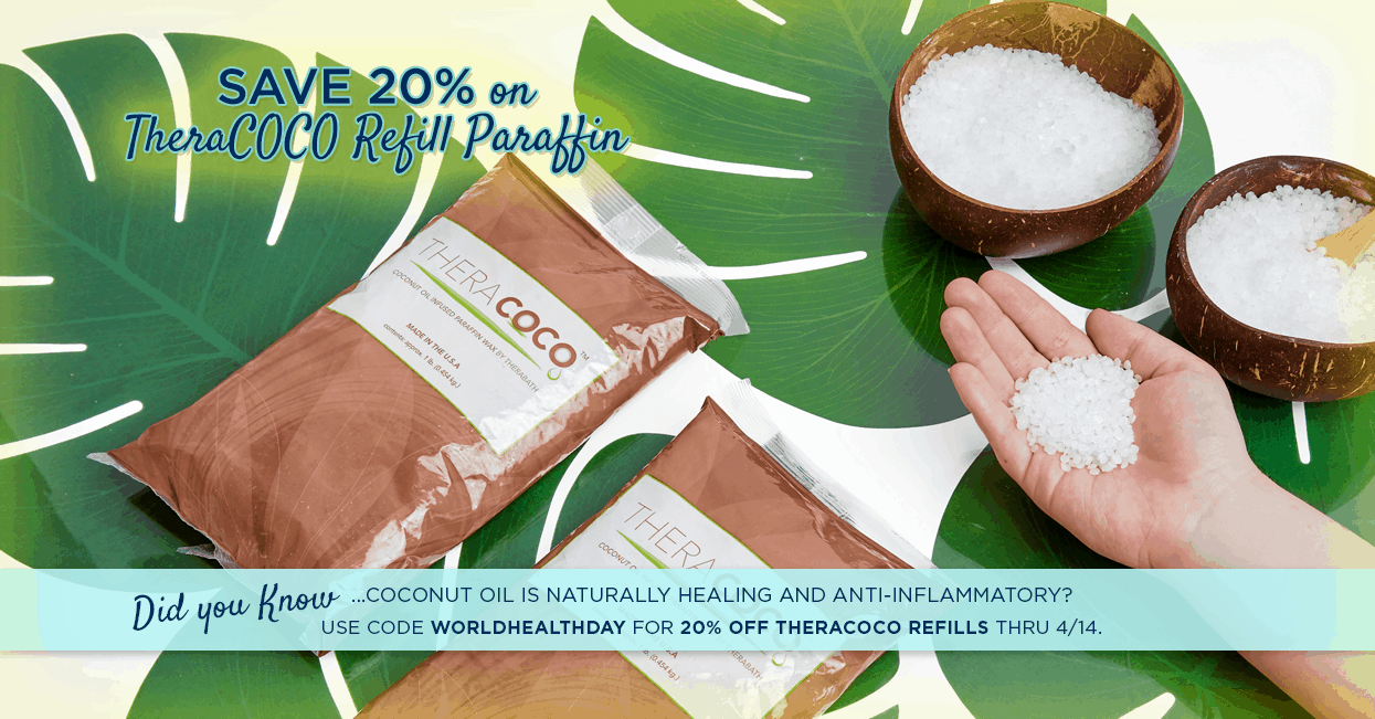 Save 20% of TheraCOCO Refills with Code WORLDHEALTHDAY